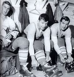 St. Louis Blues Plager Brothers: Barclay, Bill, and Bob. Best brother combo the Blues have ever had wear the Bluenote.