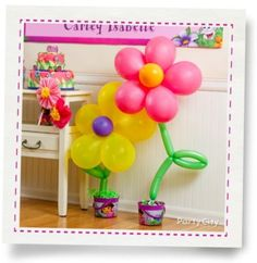 Love balloon flowers! Has good instructions for how to make these.