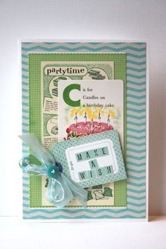 Retro Children's Birthday Card