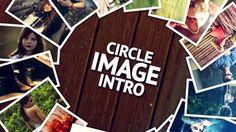 Circle Image Intro 애프터 이펙트 프로젝트