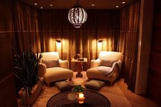 quiet room idea...meditation, reading, long talks...I love this idea, might tweak it a bit though