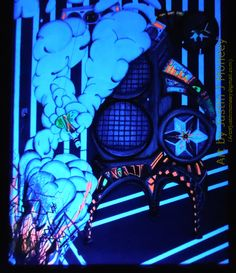Glow in the dark version of The Boom Box by Justin Moneey Music Drawings, Boombox, Art For Sale, New Art, The Darkest, Originals, Art Projects, Glow, Etsy Seller