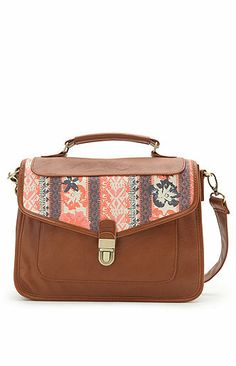 Volcom Skip Town Satchel Bag at PacSun.com on Wanelo