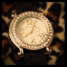I just discovered this while shopping on Poshmark: Bling Watch. Check it out! Price: $5 Size: OS, listed by stylebycharlese