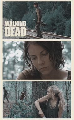 """Daryl, Maggie, & Beth ~ S4E9 """"After"""" ~ The Walking Dead (Season 4)"""