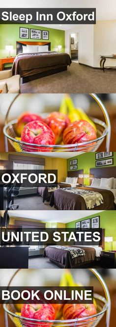 Hotel Sleep Inn Oxford in Oxford, United States. For more information, photos, reviews and best prices please follow the link. #UnitedStates #Oxford #travel #vacation #hotel