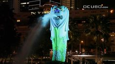 Light of Merlion by Ocubo http://www.ocubo.com/index.php/en/  Interactive fountain projection mapping deployed in Singapore. One stand-out feature of this piece is placing the statute on a separate touch screen with a paint by numbers interface. This allows users immediate feedback and the ability to get creative with something that's highly visible.