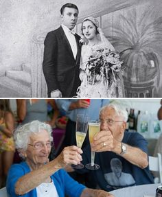John and Ann Betar....Ran away & married. She was 17 & her sister said it would never last. Married 81 years.