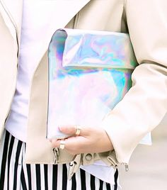 @Alexandra M What Wear - 4. Holographic   We get it: you're so far out you're practically galactic. Please, come back to earth.