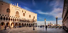 Doge's Palace on Piazzetta San Marco - Venice
