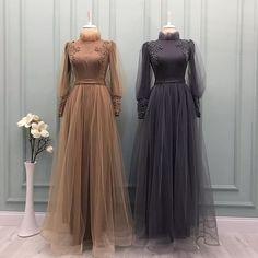 Modest Dresses, Stylish Dresses, Elegant Dresses, Fashion Dresses, Dresses With Sleeves, Hijab Dress Party, Hijab Style Dress, Hijabi Gowns, Diwali Outfits