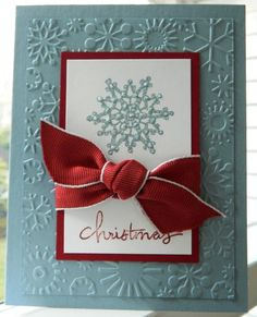 Christmas Snowflake by by ann - Cards and Paper Crafts at Splitcoaststampers