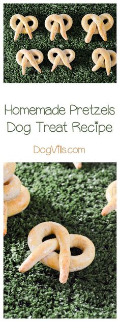 Your pooch is going to love this delicious homemade pretzels dog treat recipe! It's just like your favorite pretzel, but with a bit of a twist! Pun intended!