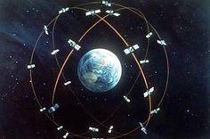 Gdyby nie teoria względności Einsteina, GPS myliłby się o Więcej w Arduino Gps, Location Based Service, Global Positioning System, Rc Remote, Gps Navigation, Star Patterns, Night Skies, Constellations, Science Nature