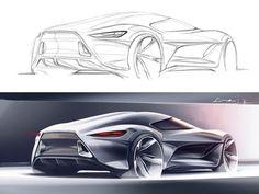 Tutorial Link: Sketchover 7 – Car rendering in Photoshop http://www.carbodydesign.com/tutorial/56262/sketchover-7-car-rendering-in-photoshop/
