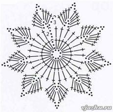 Wonderful DIY Crochet Snowflakes With Pattern - Her Crochet Maravillosos copos de nieve de ganchillo DIY con patrón - Su Crochet deko Crochet Snowflake Pattern, Crochet Stars, Crochet Snowflakes, Crochet Flower Patterns, Thread Crochet, Diy Crochet, Crochet Doilies, Crochet Flowers, Crochet Christmas Decorations