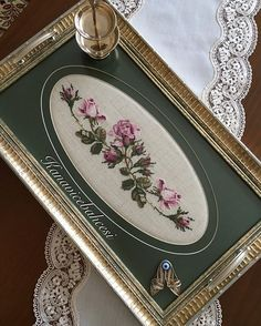 946 Likes, 55 Comments - Silk Ribbon Embroidery, Embroidery Hoop Art, Cross Stitch Embroidery, Embroidery Patterns, Cross Stitch Boards, Cross Stitch Rose, Cross Stitch Flowers, Cross Stitch Designs, Cross Stitch Patterns