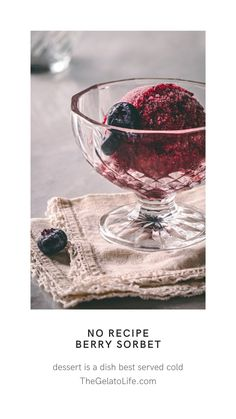 This simple formula is the foundation for you to build your own homemade sorbets with just about any fruit. Add herbs, spices, and alcohol whatever you like. The possibilities are endless! Ripe Fruit, Fruit Puree, Fresh Fruit, Gelato Ice Cream, Ice Cream Maker, Spring Desserts, Frozen Desserts, Homemade Sorbet, Chocolate Sorbet