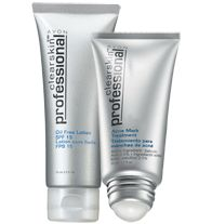 Clearskin Professional® 2-Piece Skincare Duo - $10.00 A $28 value! While supplies last. Duo includes: Oil Free Lotion SPF 15* A $16 value. Acne Mark Treatment  A $12 value. *Helps protect against UVA/UVB rays; not for the prevention or treatment of acne.