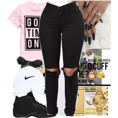 by bbyprincessa on Polyvore featuring NIKE