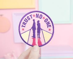 PREORDER X-Files Trust No One Patch by sweetandlovely on Etsy