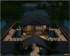 Water House at Arda - Sims 3 Finds