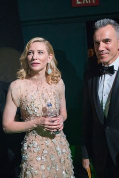 Cate Blanchett + Daniel Day Lewis - Inside The Oscars 2014