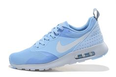 Nike Air Max 1 White Sport Shoes Blue, AUD $49.04 | www.topbrandshoes.net
