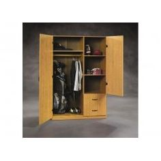 Charmant Woodworking / Beginnings Wardrobe Storage Cabinet   Sauder Wardrobe Storage  Cabinet, Storage Cabinet With Drawers