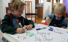 The first blog that sparked my interest in raising bilingual children.