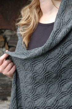 Lacy Stole (Kit) - Jamieson and Smith, Real Shetland Wool, Fair Isle Knitting, Shetland Wool, Knitting Patterns, Yarn