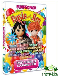 New ReleaseKids Great S Family Movie Rosie And Jim Bumper Pack 1Sealed DVD