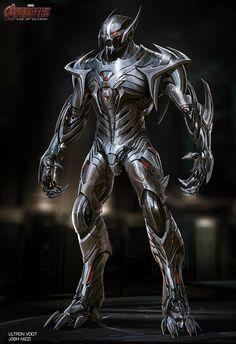 Así pudo ser la apariencia de Ultron y Hulk Buster en Avengers: Age of Ultron Marvel Concept Art, Robot Concept Art, Armor Concept, Marvel Art, Marvel Heroes, Marvel Comics, Marvel Villains, Marvel Characters, Hulk Buster