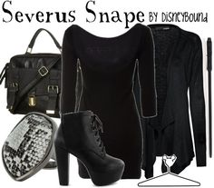Snape, Snape, Severus Snape! Harry Potter inspired clothes - Disneybound
