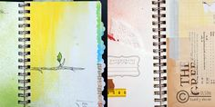 using punches to make different edges....JO-Art-Journal-5