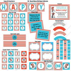 Dr. #Seuss party printables