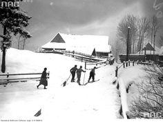 Skiers in Zakopane