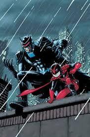 BATMAN, INCORPORATED #4 - Jason Todd as Wingman (lame name) and Damian Wayne as Redbird (ehhh)