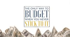 If you need to know how to start a budget but you're overwhelmed by the task, this super simple step by step tutorial makes it easy. Budget Organization, Savings Plan, Budgeting Finances, Budget Planner, Saving Ideas, Money Budget, The Only Way, Money Management, Planer