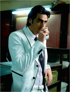 Younger Lokesh? | Arjun Rampal (b. 26 Nov 1972) is an Indian film actor, producer, and former Indian supermodel. He is married to former Miss India and supermodel Mehr Jessia - #Bollywood