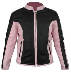 Ladies Pink & Black Leather - $119.99