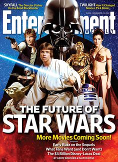 EW cover: The Future of Star Wars