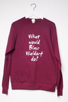 Sweater+What+would+Blair+Waldorf+do