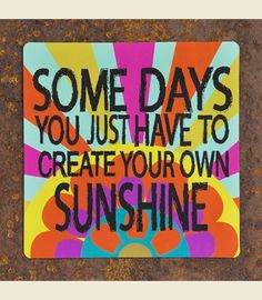 SOME DAYS SUNSHINE MAGNET - Junk GYpSy co.