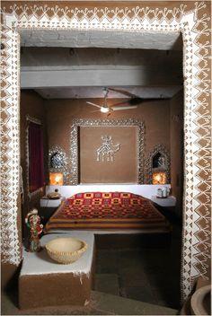 Rajasthani Mud Hut interior