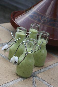 Soupe glacée aux courgettes, pour un apéro sain et léger 21 apero