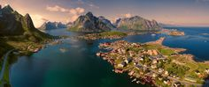 Reine, Norway - 11 of the World's Most Historic Villages You Can Still Live In Photos | Architectural Digest