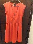 H&M 全新夏日純橙色連衣裙(40碼) - Tradeduck.com - 全港首個以物換物交換網