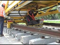 New Railways Track Construction Machine