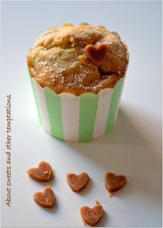 Apfel-Karamell-Muffins mit leckerem Karamellkern / Apple-Caramel-Muffins
